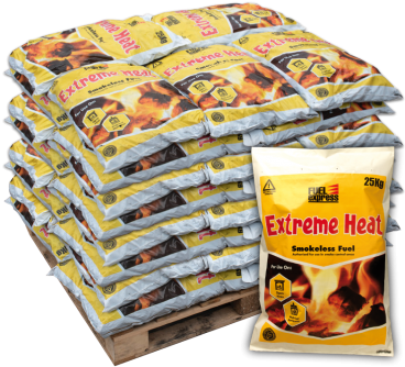 Extreme Heat Smokeless 1 tonne pallet