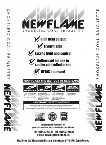Newflame pack info