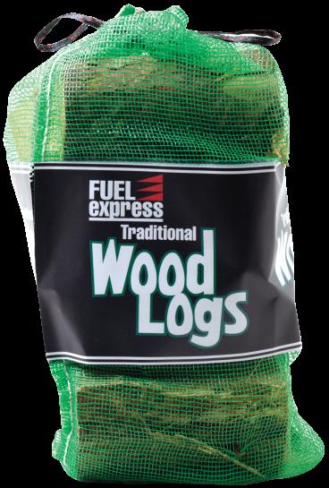 Wood logs net