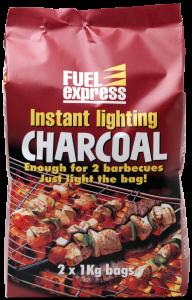 2x1Kg Instant Light Charcoal