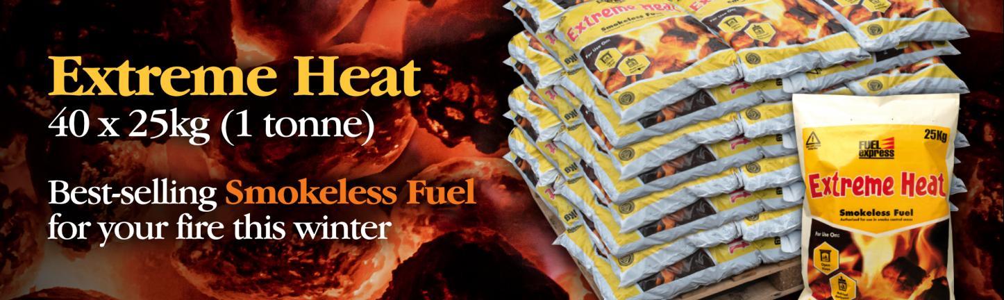 Extreme Heat smokeless fuel 1 tonne