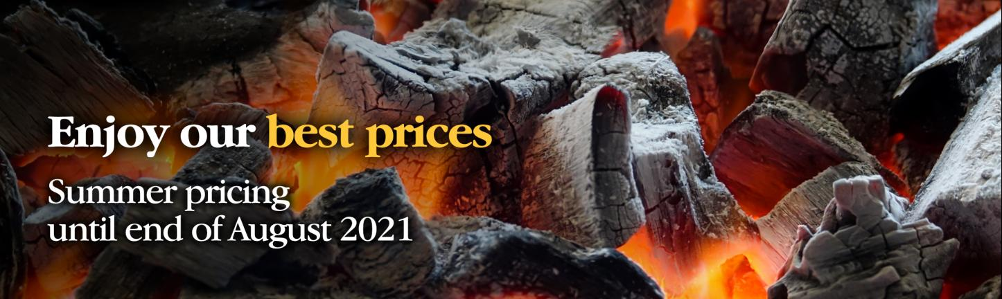 Summer pricing 2021